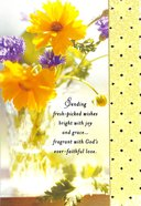 Bd General Feminine (Yellow Flower Photo) Cards