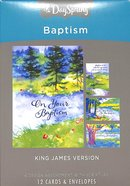 Boxed Cards Baptism: Special Step of Faith (Kjv) Box