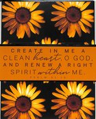 Wall Art: Create in Me a Clean Heart, O God (Psalm 51:10) Plaque