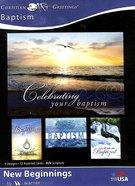 Boxed Cards: Baptism - New Beginnings (Kjv) Box