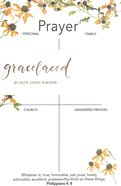 Gracelaced Prayer Notepad: Whatever is True, White/Country Floral Stationery