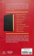 KJV Deluxe Gift Bible Black (Red Letter Edition) Imitation Leather