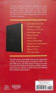 KJV Deluxe Gift Bible Black (Red Letter Edition) Imitation Leather