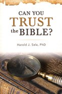 Can You Trust the Bible? Paperback
