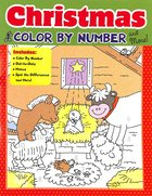 Christmas Color By Number and More! Paperback
