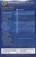 KJV Classic Reference Holy Bible Black (Black Letter Edition) Hardback