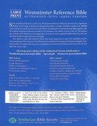 KJV Compact Westminster Reference Bible Burgundy (Black Letter Edition) Vinyl