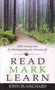 Read Mark Learn Paperback