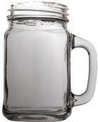 Mason Jar With Handle, 651ml Homeware