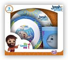 Jonah & the Whale Bpa Free, Top Rack Dishwasher Safe, Do Not Microwave (3 Piece Set) (He Loves Me Dinnerware Series) Homeware