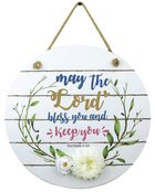 Mdf Wall Art: May the Lord Bless You, Numbers 6:24 Plaque