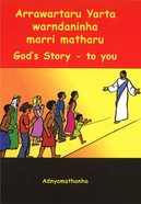 God's Story For the Outback (Includes CD) (Adnyamathanha) Booklet