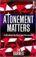 Atonement Matters Paperback
