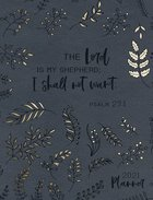 2021 16-Month Diary/Planner: The Lord is My Shepherd (Zippered/Grey) (Ps 23:1) Imitation Leather