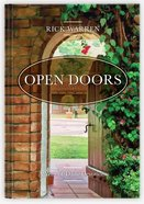 Open Doors: A Year of Devotions (Is Also A Companion To The Time To Dream) Hardback