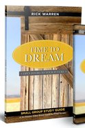 Time to Dream (Study Guide) Paperback