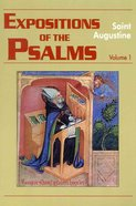 Expositions of the Psalms 1-32 Paperback