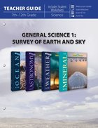 General Science 1: Survey of Earth and Sky (Teacher Guide) Paperback