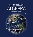 Elementary Algebra (Ages 16-18 Years) Paperback