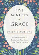 Five Minutes of Grace: Daily Devotions Hardback