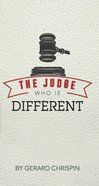 The Judge Who is Different Booklet