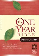 NLT MP3 Audio One Year Bible (5 Mp3s) CD