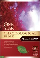 NLT Audio One Year Chronological Bible (5 Mp3 Cds) CD
