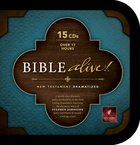NLT Bible Alive! New Testament (15 Cds) CD