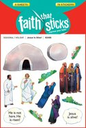 Jesus is Alive! (6 Sheets, 78 Stickers) (Stickers Faith That Sticks Series) Stickers