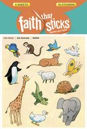 Ark Animals (6 Sheets, 78 Stickers, 39 Animal Pairs) (Stickers Faith That Sticks Series) Stickers