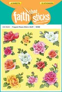Fragrant Roses Stick-N-Sniff (6 Sheets, 72 Stickers) (Stickers Faith That Sticks Series) Stickers