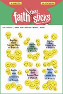 Smile, God Loves You a Bunch (6 Sheets, 36 Stickers) (Stickers Faith That Sticks Series) Stickers