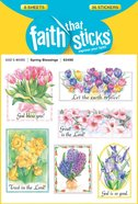 Spring Blessings (6 Sheets, 36 Stickers) (Stickers Faith That Sticks Series) Stickers