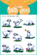 God Made Sheep (6 Sheets, 54 Stickers) (Stickers Faith That Sticks Series) Stickers