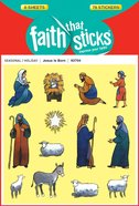Jesus is Born (6 Sheets, 78 Stickers) (Stickers Faith That Sticks Series) Stickers