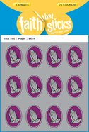 Prayer (6 Sheets, 72 Stickers) (Stickers Faith That Sticks Series) Stickers
