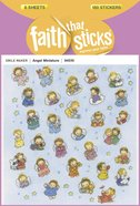 Angel Miniature (6 Sheets, 180 Stickers) (Stickers Faith That Sticks Series) Stickers