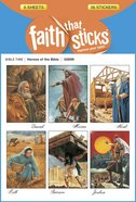 Heroes of the Bible (6 Sheets, 36 Stickers) (Stickers Faith That Sticks Series) Stickers