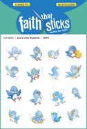 God's Little Bluebirds (6 Sheets, 96 Stickers) (Stickers Faith That Sticks Series) Stickers