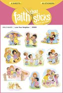 Love Your Neighbor (6 Sheets, 60 Stickers) (Stickers Faith That Sticks Series) Stickers