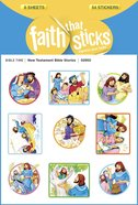 New Testament Bible Stories (6 Sheets, 54 Stickers) (Stickers Faith That Sticks Series) Stickers