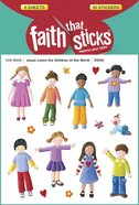 Jesus Loves the Children of the World (6 Sheets, 90 Stickers) (Stickers Faith That Sticks Series) Stickers