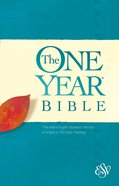 ESV One Year Bible, (Black Letter Edition) eBook