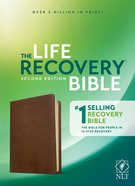 NLT Life Recovery Bible Second Edition Rustic Brown Imitation Leather