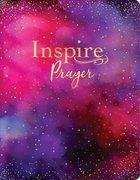 NLT Inspire Prayer Bible Giant Print Purple Imitation Leather
