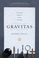 Gravitas, eBook