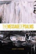 Message of Psalms Premier Journaling Edition Thunder Symphonic Paperback