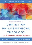 An Introduction to Christian Philosophical Theology eBook