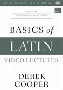 Basics of Latin: For Use With Basics of Latin Book (Video Lectures) DVD