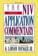 Judges, Ruth (Niv Application Commentary Series) Hardback